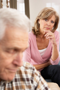 Wife Concerned About Husband Caring for the caregiver