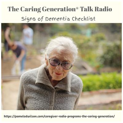 Signs of Dementia Checklist – Oct 2, 2019