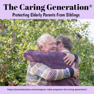 protecting elderly parents from siblings