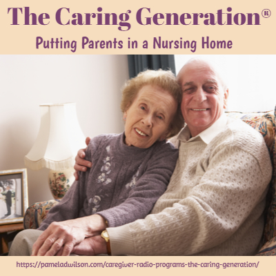 putting parents into a nursing home