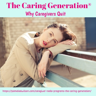 why do caregivers quit