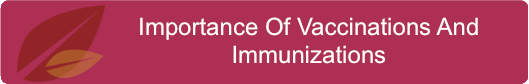 Importance Of Vaccinations And Immunizations