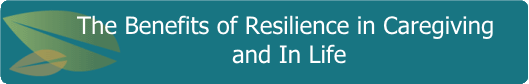 The benefits of Resilience