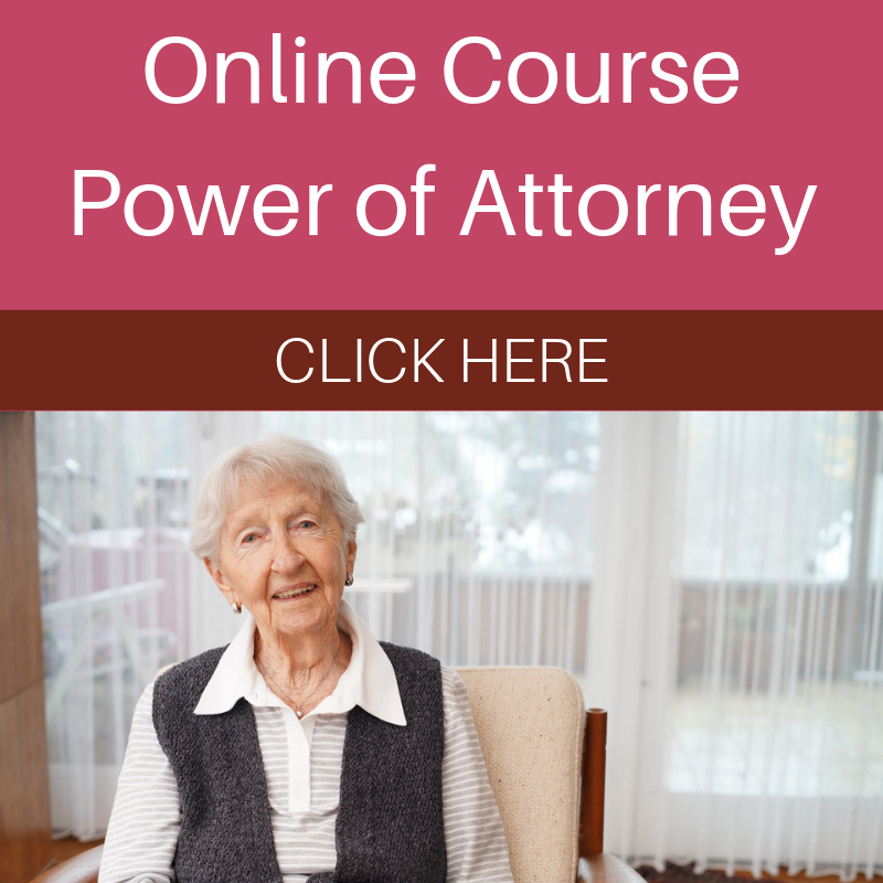 Online Course Power of Attorney
